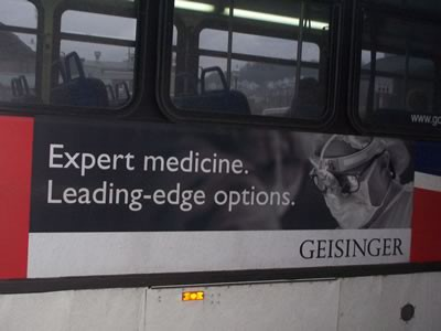 Geisinger Advertising Example